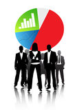 Sciences économiques d'affaires Images libres de droits