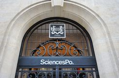 Sciences Po Paris Royalty Free Stock Photography