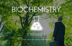 Scientific Biochemistry Genetics Engineering Concept stock photos