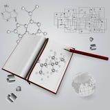 Scientific book Stock Image