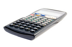 Scientific calculator. On white background, isolated Royalty Free Stock Photography