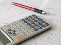 Scientific calculator Royalty Free Stock Image