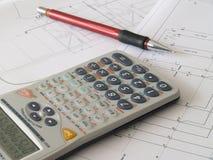 Scientific calculator Royalty Free Stock Image