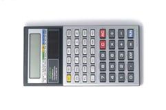 Scientific calculator. Advanced scientific calculator isolated on white Stock Image