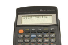 Scientific calculator Stock Photos