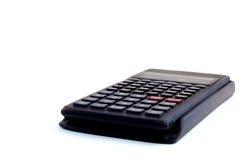 Scientific calculator. Close up of scientific calculator in white background Royalty Free Stock Image