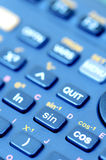 Scientific calculator. Detail of a scientific calculator Stock Image