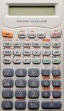 Scientific calculator background Royalty Free Stock Photos