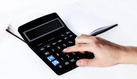 Scientific calculator Royalty Free Stock Photography