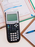 Scientific Calculator for School Royalty Free Stock Photos
