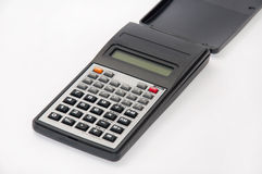 Scientific calculator on the white background Stock Images
