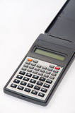 Scientific calculator on the white background Royalty Free Stock Images