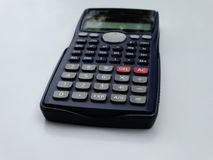 Scientific calculator isolated stock photography