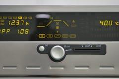 Scientific device panel stock photos