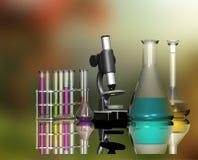 Scientific devices Stock Image