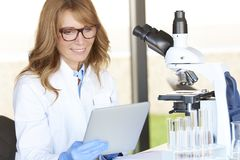 Scientific discovery Royalty Free Stock Photo