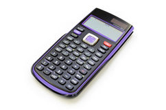 Scientific electronic calculator Royalty Free Stock Image