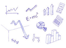 Scientific Elements Royalty Free Stock Image