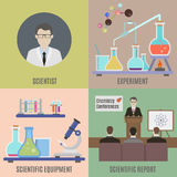 Scientific experiment and equipment Stock Photography