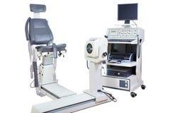 Scientific Human Sports Performance Assessment Machine. Modern Technology Stock Photo