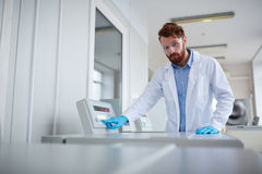 Scientific investigation Royalty Free Stock Images