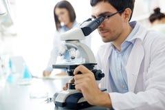 Scientific investigation Royalty Free Stock Image