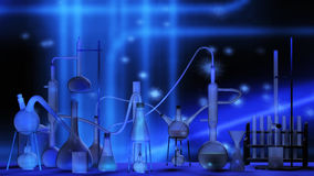 Scientific Laboratory Stock Image