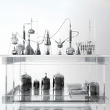 Scientific Laboratory Royalty Free Stock Photo