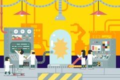 Scientific laboratory experiments experience Stock Photos