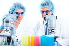 Scientific laboratory. Royalty Free Stock Photography