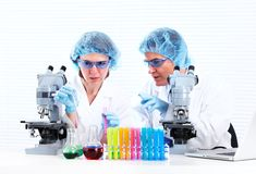 Scientific laboratory. Stock Photo
