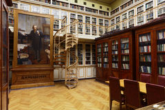 Scientific library of D.I. Mendeleyev Institute for Metrology Stock Photo