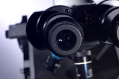 Scientific microscope Royalty Free Stock Photography