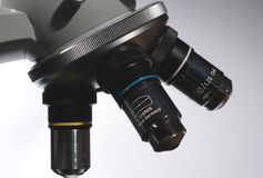 Scientific microscope Stock Photography