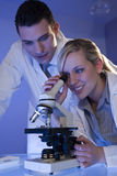 Scientific Research Team Royalty Free Stock Images
