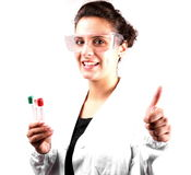 Scientific researcher Stock Photography