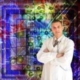 Scientific researches Stock Image