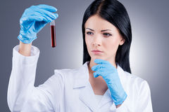 Scientific researches. Royalty Free Stock Images