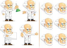Scientifique ou professeur Customizable Mascot 10 Photos stock