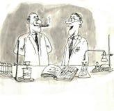 Scientifiques illustration de vecteur