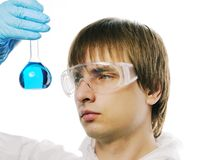 Scientist Royalty Free Stock Photography