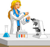 Scientist Stock Photography