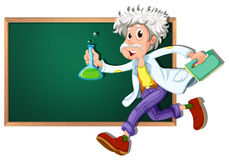 Scientist banner Royalty Free Stock Photography