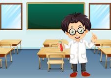 Scientist in classroom Royalty Free Stock Photography