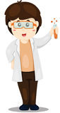scientist doing test Stock Photo