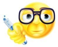 Scientist Emoji Emoticon Royalty Free Stock Photography