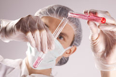 Scientist Experimenting Royalty Free Stock Image