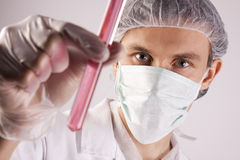 Scientist Experimenting Stock Photos