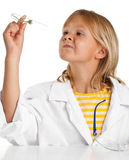 Scientist girl Stock Photo