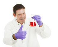 Scientist Has the Cure Royalty Free Stock Photos